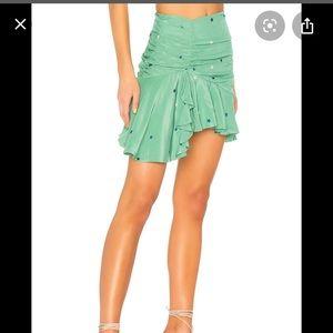 NEW Majorelle Green Star Skirt Medium